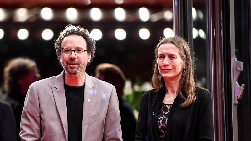 Die neue Berlinale-Spitze:Carlo Chatrian und Mariette Rissenbeek. Foto: Britta Pedersen/dpa-Zentralbild/dpa