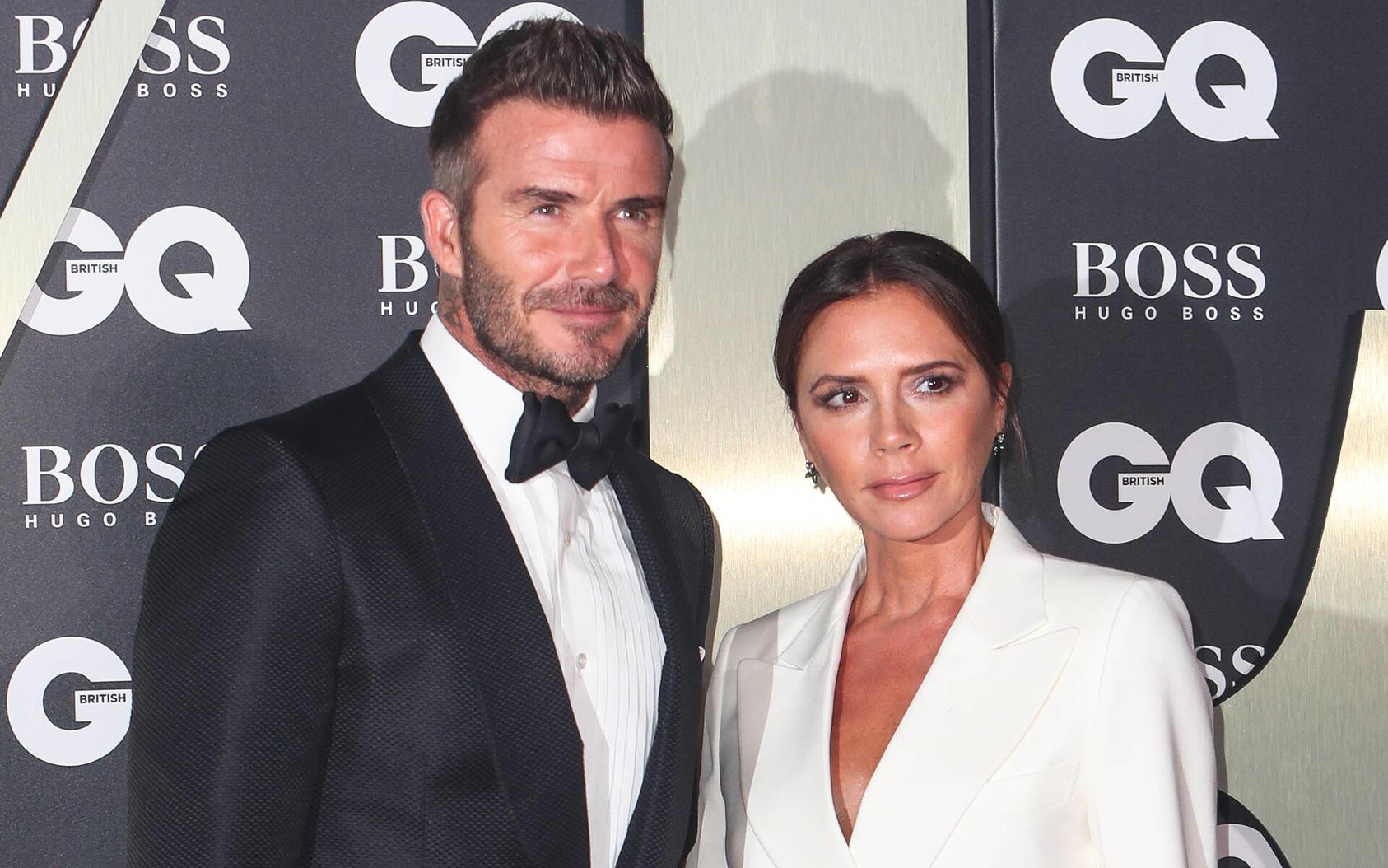 David und Victoria Beckham lernten sich am Rande eines Fußballspiels kennen