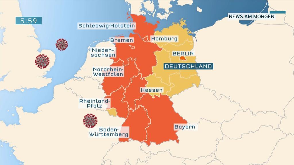 Infizierte In Deutschland Karte