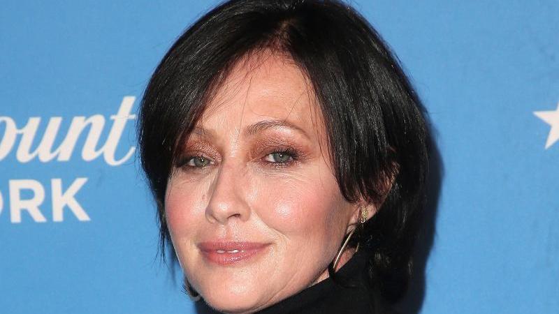Schauspielerin Shannen Doherty geht es besser. Foto: F. Sadou/AdMedia via ZUMA Wire/dpa