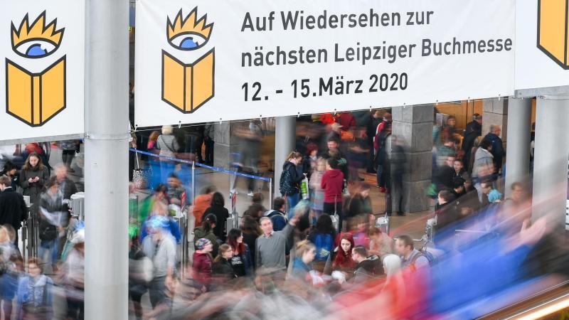 Die Leipziger Buchmesse findet nicht statt. Foto: Jens Kalaene/dpa-Zentralbild/dpa
