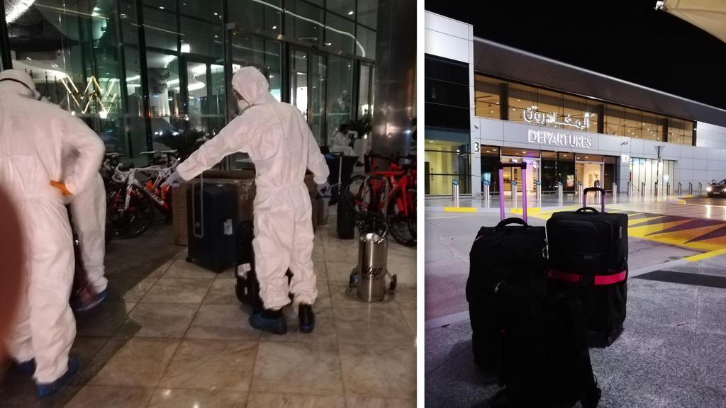 Endlich nach Hause! Diese Bilder schickten uns die Urlauber, die tagelang in Abu Dhabi festsaßen.