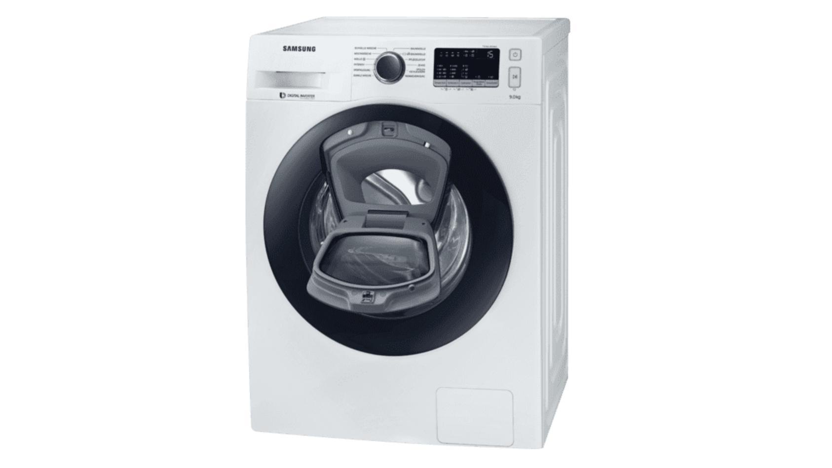 Samsungs Waschmaschine WW90K44205W/EG ist derzeit bei Saturn im Angebot.