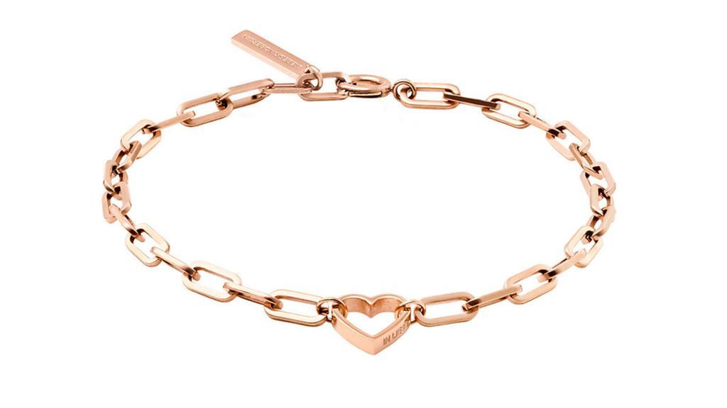 Mit diesem Armband machen Sie den Gliederketten-Trend alltagstauglich.
