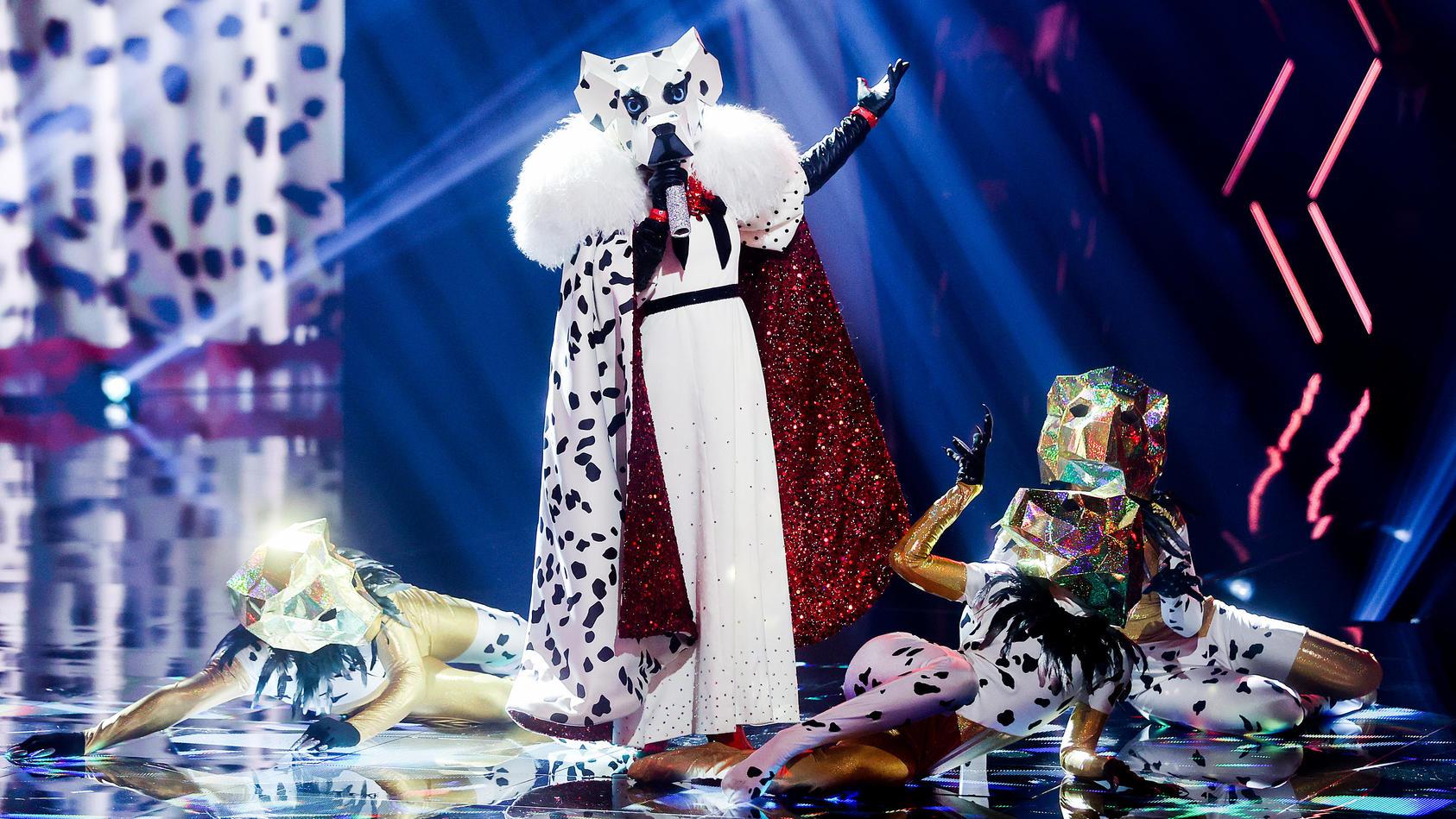 Masked Singer Dalmatiner