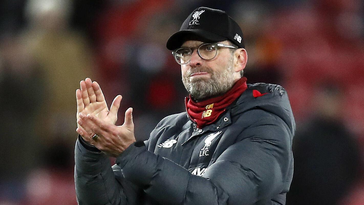 Liverpool v Atletico Madrid - UEFA Champions League - Round of 16 - Second Leg - Anfield Liverpool manager Jurgen Klopp