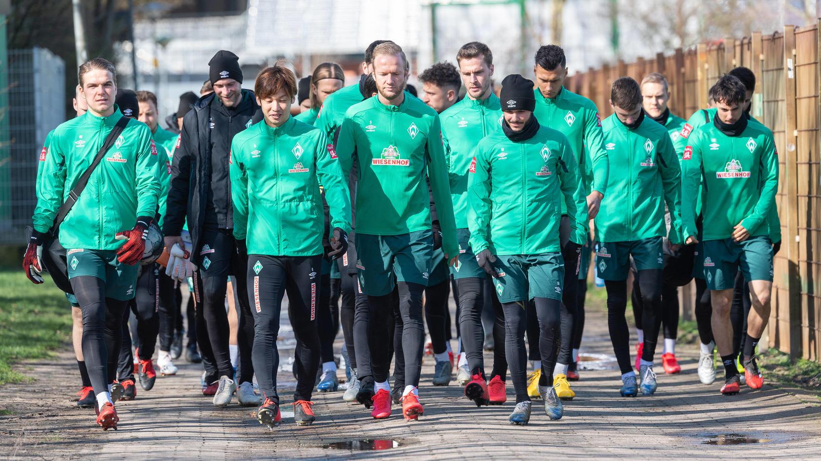 GER, 1.FBL, Werder Bremen Training / 12.03.2020, Trainingsgelaende am wohninvest WESERSTADION,, Bremen, GER, 1.FBL, Werd