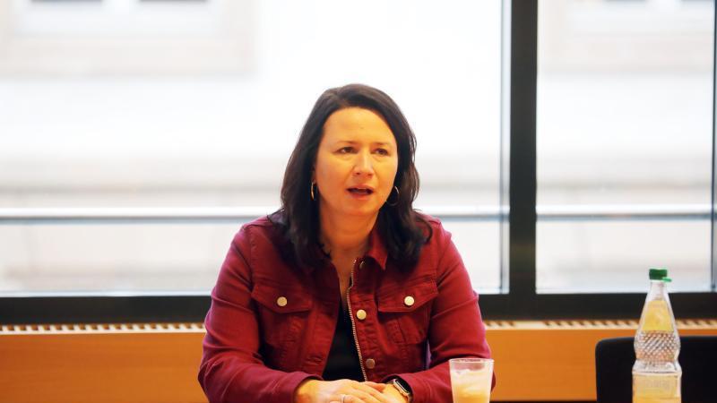 Anja Siegesmund (Die Grünen), Umweltministerin. Foto: Bodo Schackow/dpa-Zentralbild/dpa/Archivbild