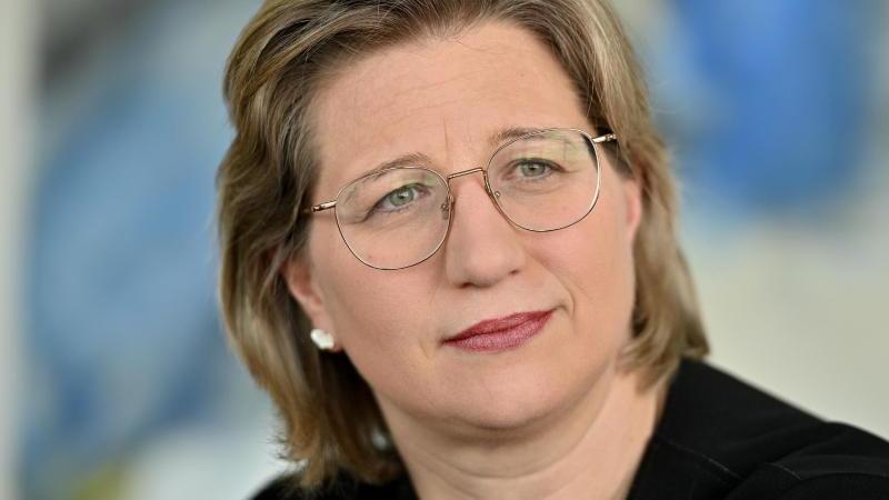 Wirtschaftsministerin Anke Rehlinger (SPD. Foto: Harald Tittel/dpa/Archivbild