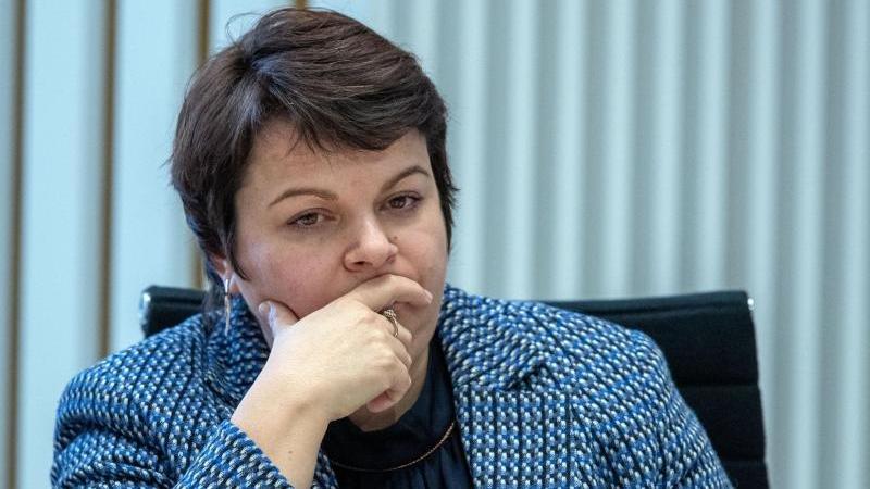 Stefanie Drese (SPD), die Sozialministerin von Mecklenburg-Vorpommern. Foto: Jens Büttner/dpa-Zentralbild/ZB/Archivbild