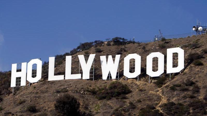 Der Coronavirus legt den Hollywood-Betrieb lahm. Foto: Andrew Gombert/EPA/dpa