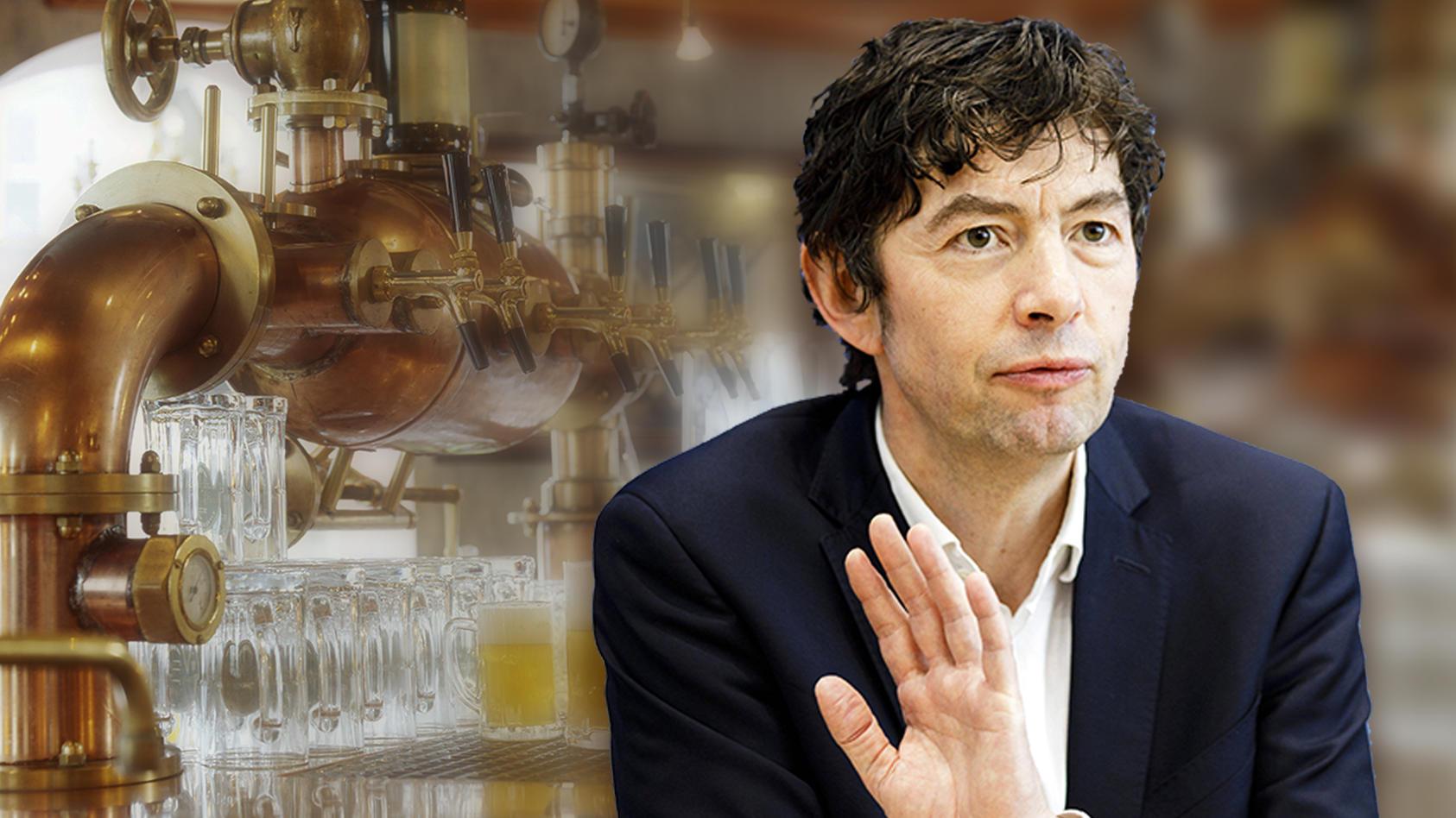 """Christian Drosten, Direktor am Institut für Virologie der Charite Berlin: """"Wir müssen uns nicht einschließen""""."""