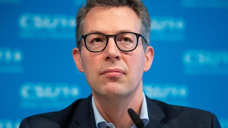 Der CSU-Generalsekretär Markus Blume. Foto: Sven Hoppe/dpa/Archivbild