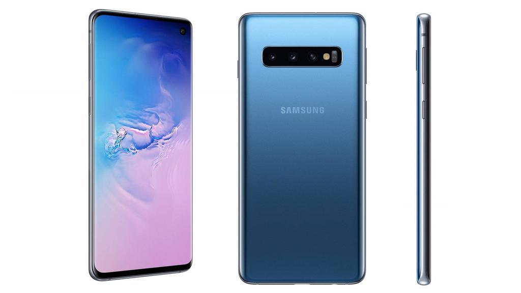 Das Samsung S10 mit 128 Gigabyte Speicher ist gerade samt Tarif und Konsole im Bundle erhältlich.