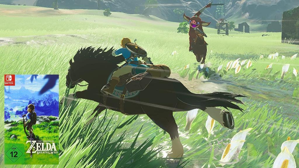 Zelda: Breath of the Wild bietet etliche Stunden Spielspaß.