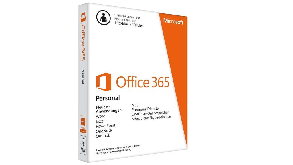 Microsoft Office 365 ist eine weit verbreitetes Programmpaket fürs Büro.
