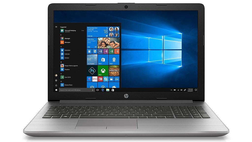 Mit dem HP 250 G7 lässt es sich zu Hause und unterwegs gut arbeiten.