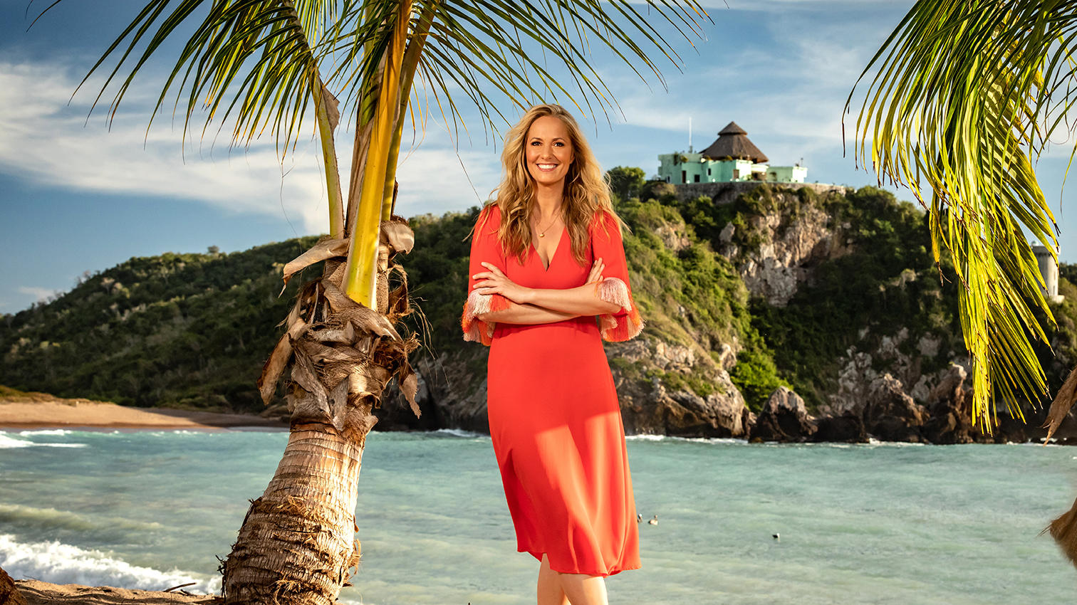 """Moderatorin Angela Finger-Erben wird Staffel 2 von """"Paradise Hotel"""" präsentieren."""