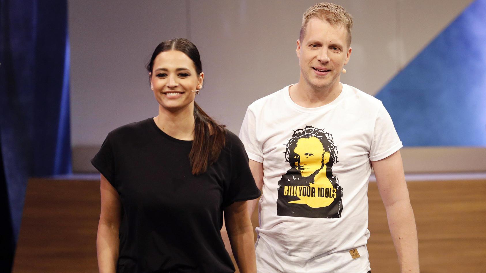 Amira Pocher und Oliver Pocher wurden von Rapperin Loredana scharf kritisiert.