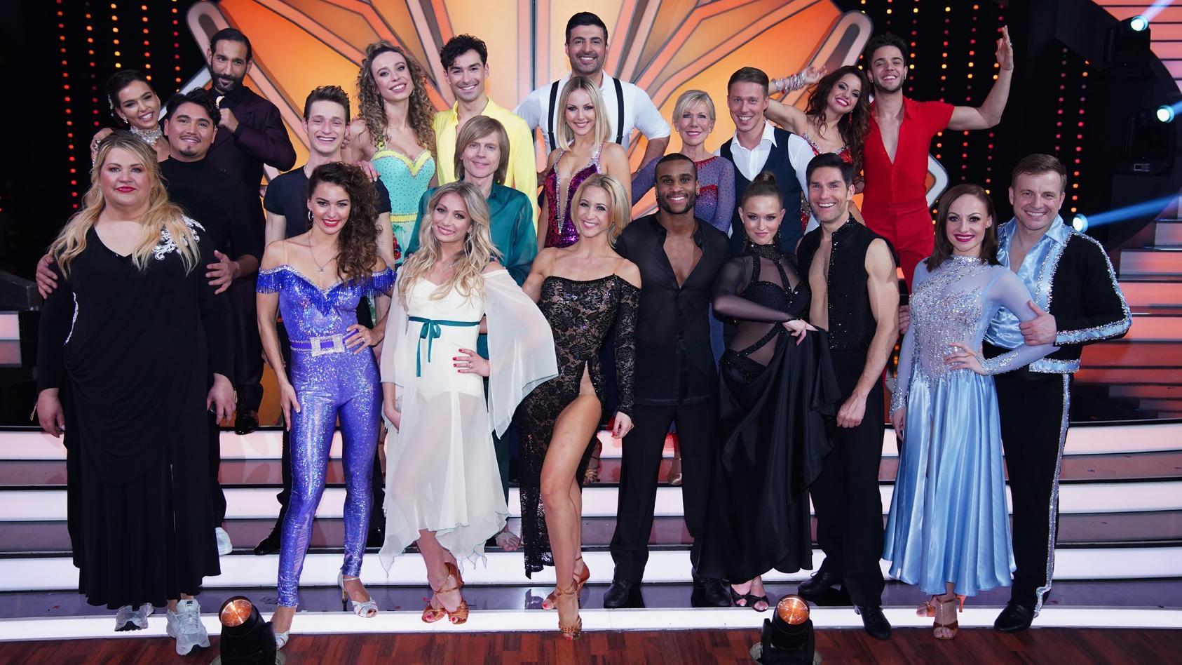 """Diese Kandidaten treten in der vierten Show von """"Let's Dance"""" auf."""