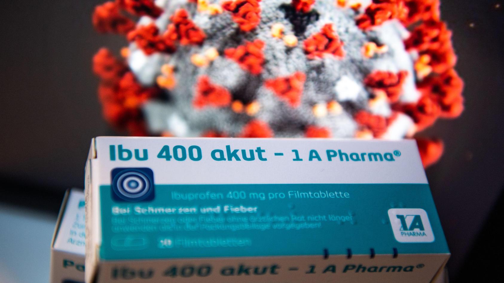 Ibuprofen macht nicht anfälliger für das neuartige Coronavirus.