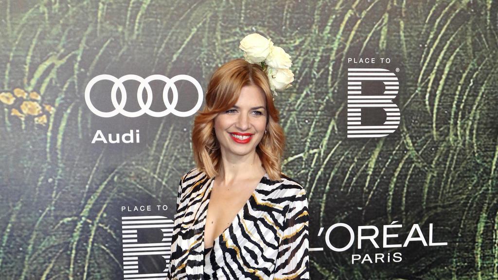 Die symphatische Schauspielerin holte den Sieg gemeinsam mit Profitänzer Christian Polanc.