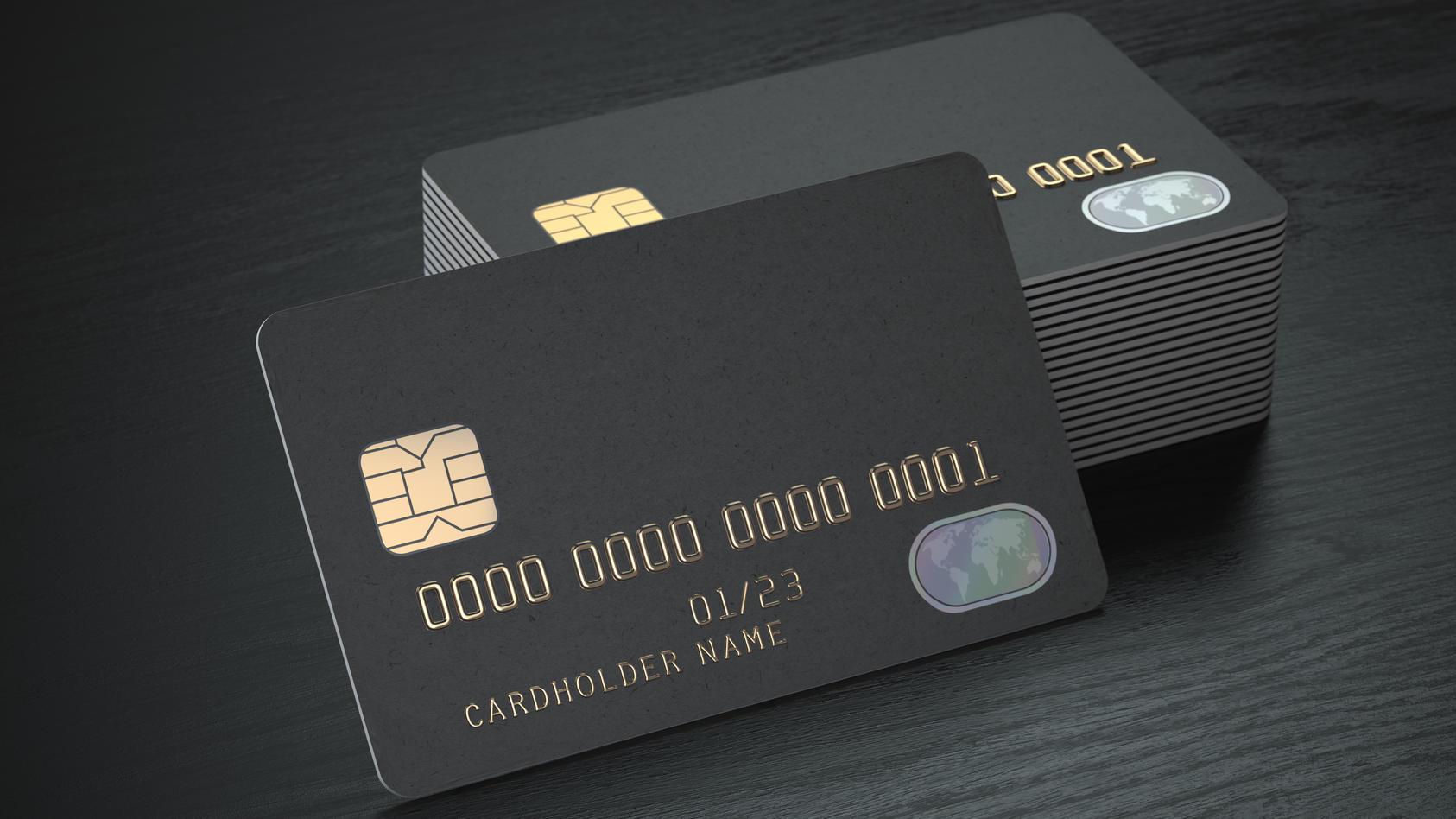"""Die mysteriöse """"schwarze Kreditkarte"""""""