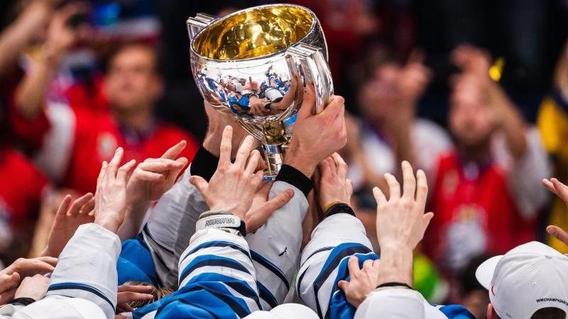 Finnland wird ein weiteres Jahr amtierende Eishockey-Weltmeister sein. Foto: Joel Marklund/Bildbyran via ZUMA Press/dpa