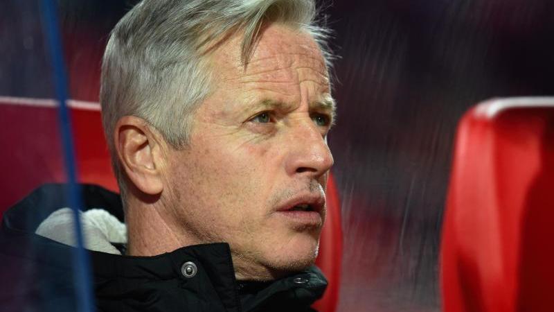 Nürnbergs Trainer Jens Keller. Foto: Nicolas Armer/dpa/Archivbild