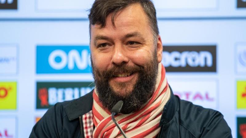 Christian Arbeit, Pressesprecher des 1. FC Union Berlin. Foto: Andreas Gora/dpa/Archivbild