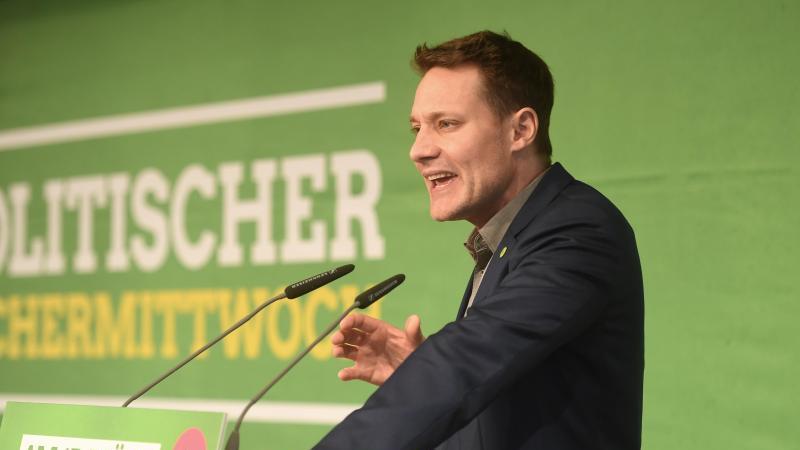 Ludwig Hartmann, Fraktionsvorsitzender der Grünen im Bayerischen Landtag. Foto: Tobias Hase/dpa/Archivbild