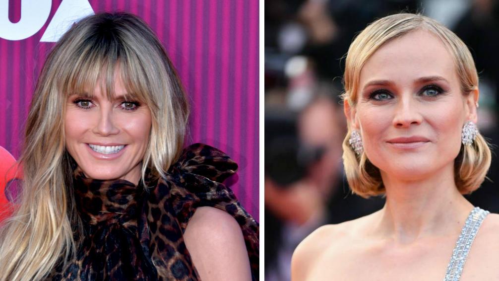 Heidi Klum und Diane Kruger geben Tipps gegen die Corona-Langeweile