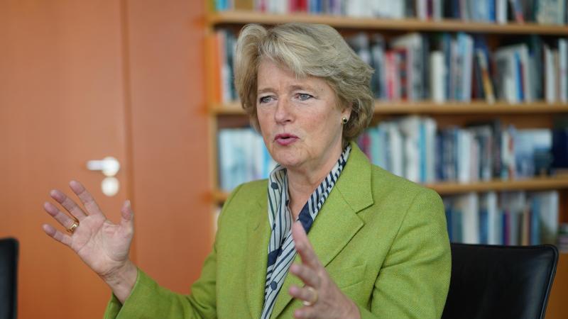 Kulturstaatsministerin Monika Grütters (CDU). Foto: Jörg Carstensen/dpa/Archivbild