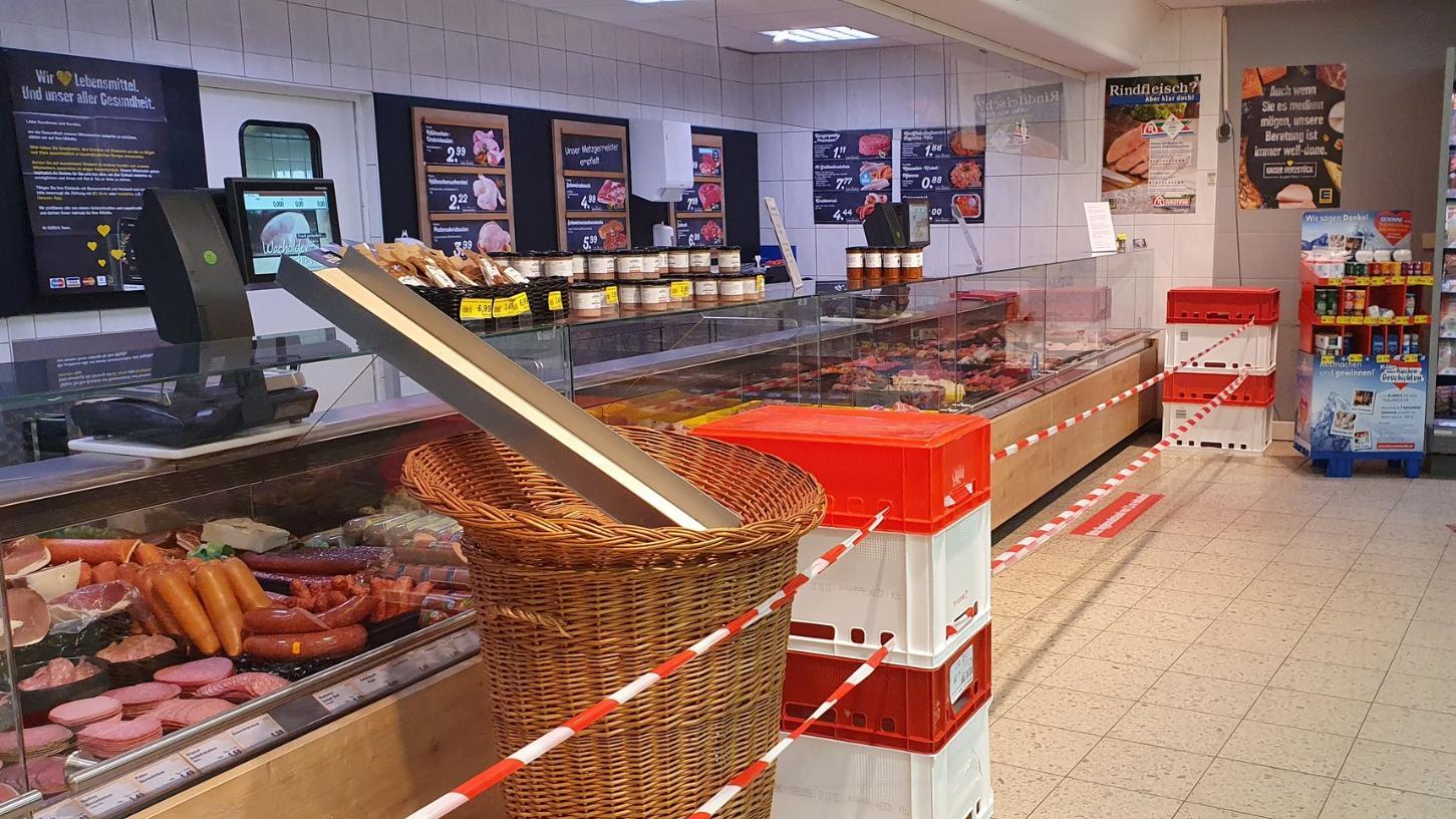 Corona-Not macht Supermärkte erfinderisch!