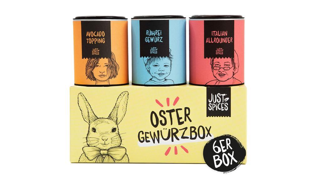 Oster Gewürzbox von Just Spices.