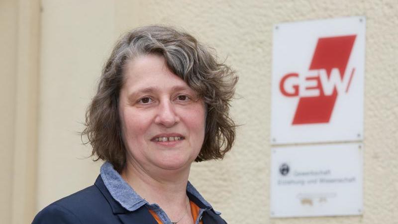 Anja Bensinger-Stolze, Vorsitzende der Gewerkschaft Erziehung und Wissenschaft (GEW) Hamburg. Foto: picture alliance / dpa / Archivbild