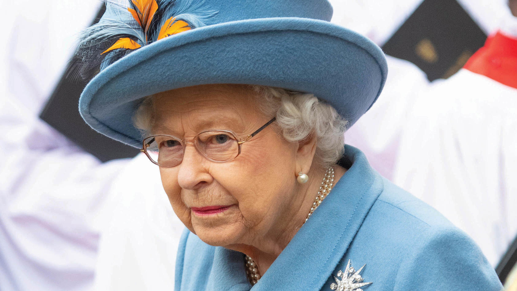 Die Queen richtet sich an das britische Volk