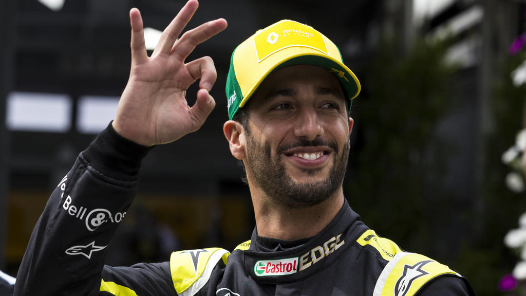 12th March 2020 Melbourne Grand Prix Circuit, Melbourne, Victoria, Australia Formula One, Australian Grand Prix, Practice Day Renault driver Daniel Ricciardo PUBLICATIONxNOTxINxUK ActionPlus12217063 StephenxBlackberry