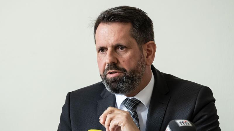 Olaf Lies (SPD), Niedersachsens Minister für Umwelt, Energie, Bauen und Klimaschutz. Foto: Peter Steffen/dpa/Archivbild