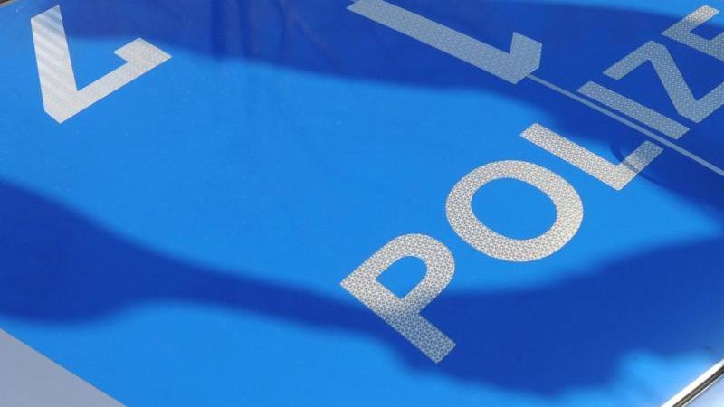 Der Schatten eines Polizisten mit Kelle fällt auf ein Polizeiauto. Foto: Franziska Kraufmann/dpa/Illustration