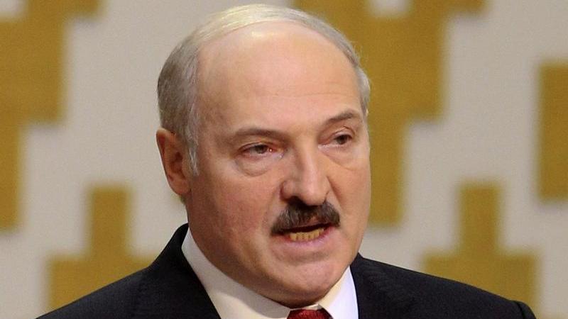 Präsident von Weißrussland Alexander Lukaschenko