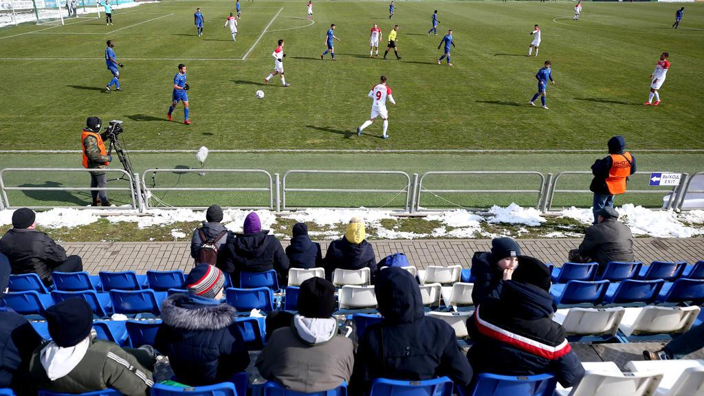 Fußballspiel in Weißrussland