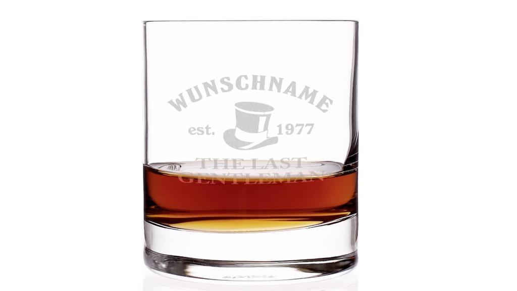 Whiskey Glas.