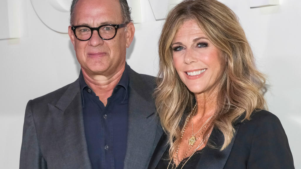 Auch Tom Hanks und seine Frau Rita Wilson hatten sich mit Corona infiziert