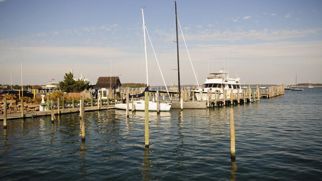 Viele US-Millionäre verbringen die Zeit in den Hamptons auf Long Island.