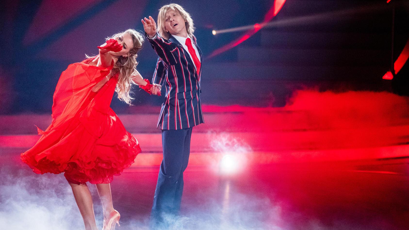 John Kelly tanzte bis zur dritten Show an der Seite von Regina Luca