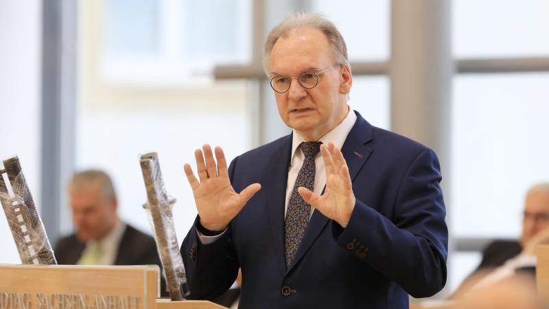 Reiner Haseloff, der Ministerpräsident des Landes Sachsen-Anhalt. Foto: Peter Gercke/dpa-Zentralbild/dpa
