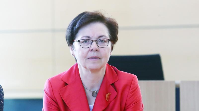 Heike Taubert (SPD), Finanzministerin von Thüringen. Foto: Bodo Schackow/zb/dpa/Archivbild