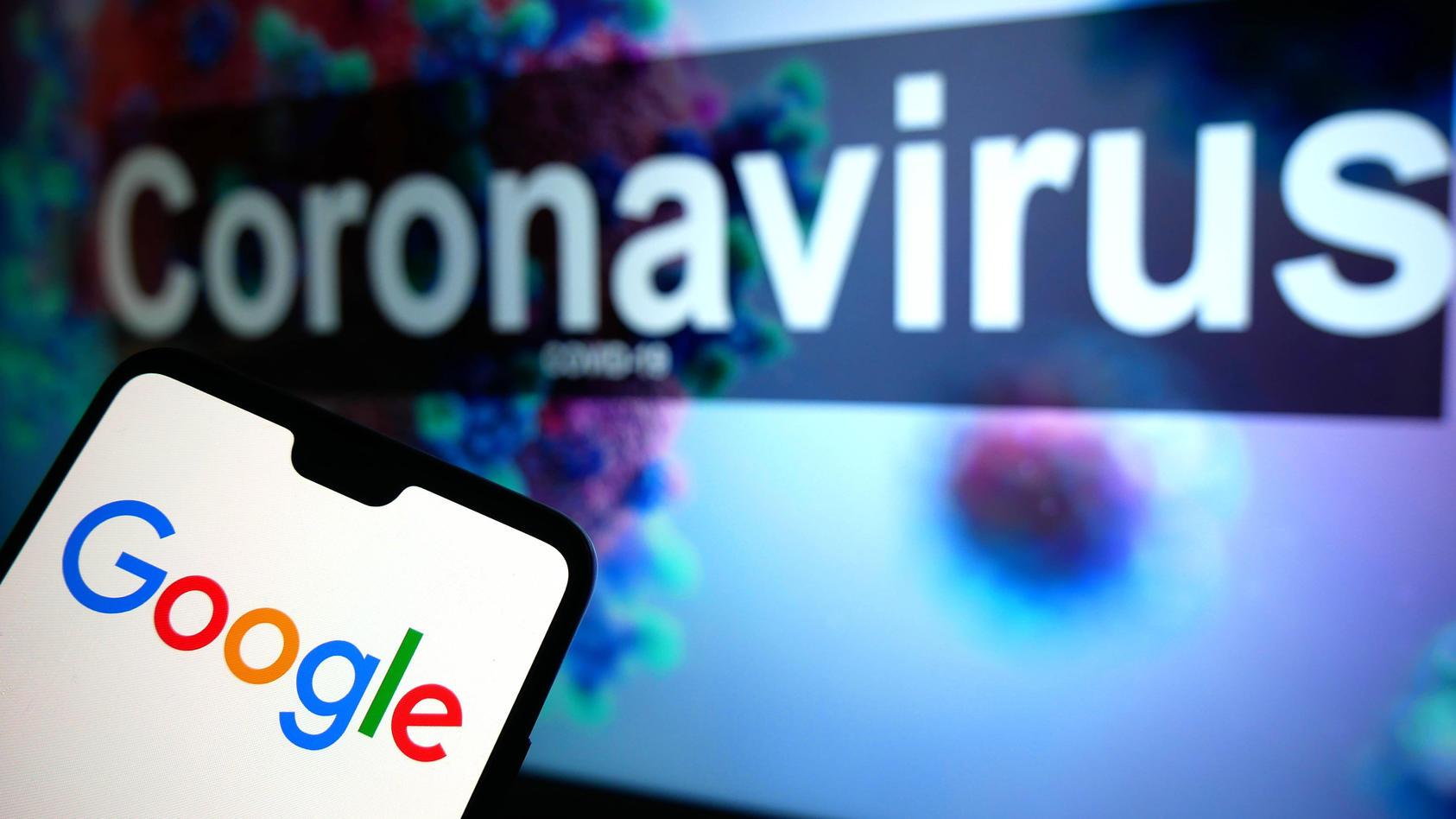 Per Google-Suche findet man Antworten auf viele Fragen rund um das Coronavirus.