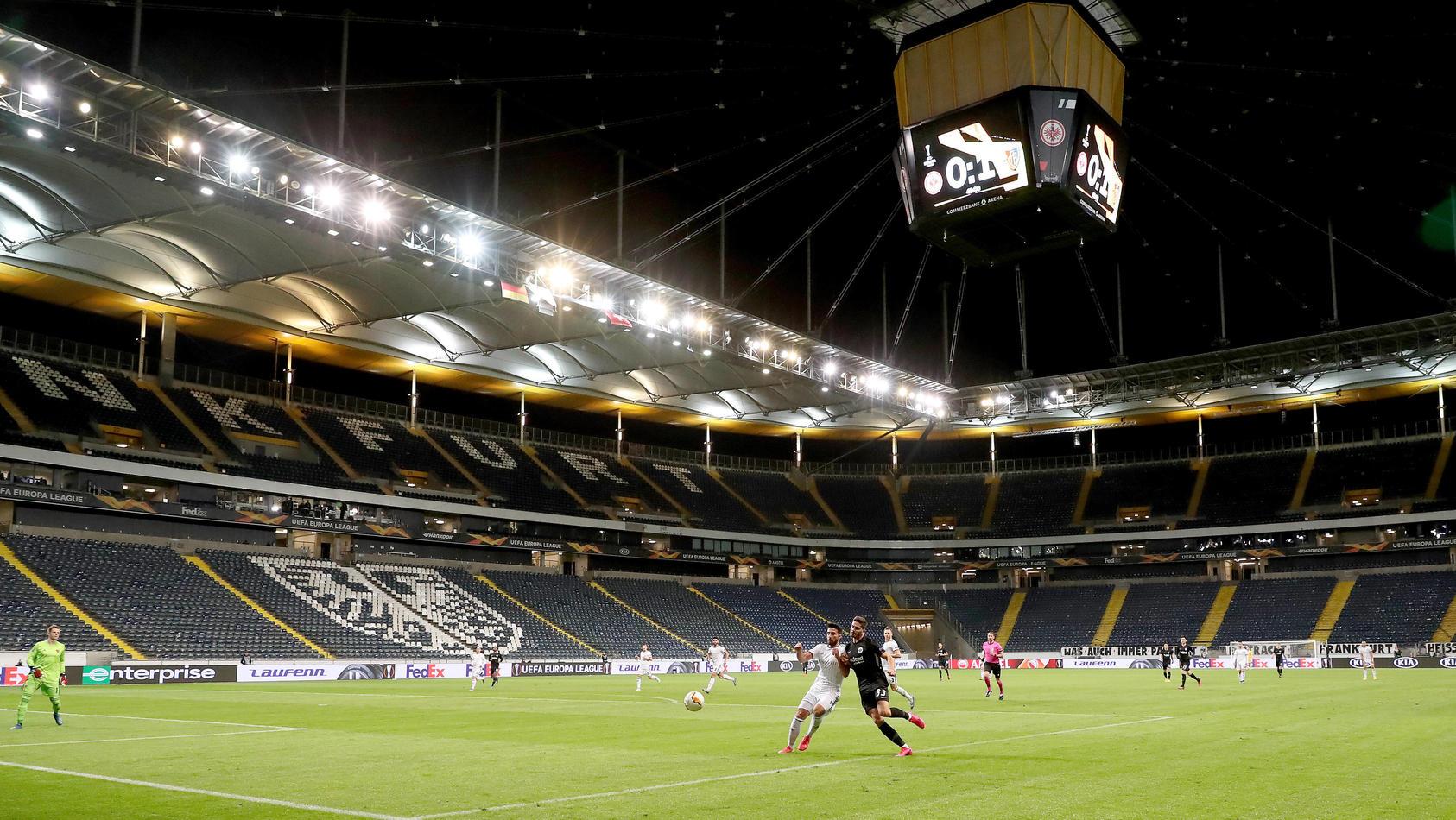 Fußball - Europa League - Eintracht Frankfurt - FC Basel am 12.03.2020 in der Commerzbank-Arena in Frankfurt Spielszene